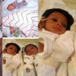 Nigerian woman welcomes twins after 11 years of marriage (Photos)
