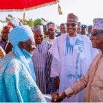 Buhari, Guinean President, Others Observe Eid Prayer In Daura