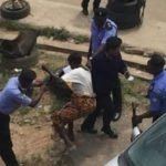 RevolutionNow Protest: Police Assault Elderly Woman In Osun