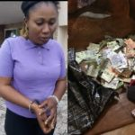 Fake Blind Woman-Beggar, Nzube Ekene Arrested In Ekiti With 10-year-Old Girl (Photos)