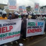 Groups Protest At British High Commission Over Award Of $9.6bn To P&ID (photos & video)