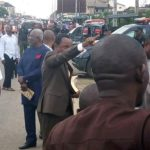 Police Seal Off Governor's Church