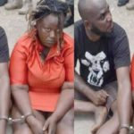 Lagos Police Arrest Lovers Who Stole N38 Million Health Insurance Funds And Fled To Ghana (photos)