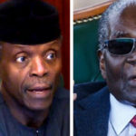 Osinbajo: Mugabe stood out in anti-colonial struggle