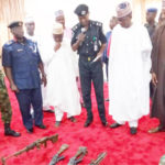 PHOTOS: Zamfara Bandits Surrender Weapons, Military Uniform – Police