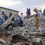 Three-storey under construction collapses in Enugu