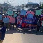 Delta Youths Storm Streets To Protest Yahoo-Yahoo, Ritual Killings Among Others
