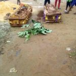 Pandemonium In Imo State As Man Digs Out Two Corpses Of Rival Family Over Land Dispute (PHOTOS)