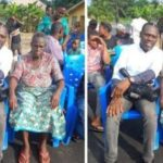 BREAKING: Samson Siasia's mother regains freedom after 77 days in captivity (photos)