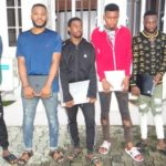 PHOTOS: EFCC Arrests Six Suspected Facebook Hackers In Uyo