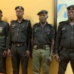 Four RRS Officers Arrested For Extorting N5000 From A Motorist In Lagos (VIDEO)