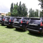 PHOTOS: Gov. Akeredolu Buys Prado Jeep For All Judges In Ondo State and They Accept