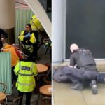 Manchester shopping centre evacuated and 'shut down' following reports of 'multiple stabbings' (PHOTOS)
