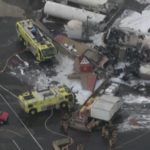 World War II Plane Crashes In US Airport, Kills At Least 7 Persons (photos)
