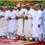 Buhari's Wedding Rumours To Sadiya Umar Farou: Worshippers Storm Aso Rock Mosque
