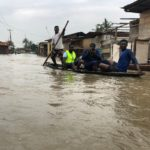 Lagos Flood: Canoes Used As Transportation Means In Owode Elede, Írawo, Ájegunle (photos)