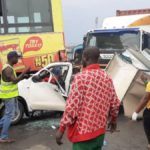 Many Trapped In Multiple Accident On Otedola Bridge, Lagos (video)