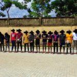 EFCC parades 27 suspected Internet fraudsters in Enugu