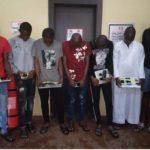 Yahoo Yahoo: EFCC Arrests Five Ekiti Students, 12 Others For Internet Fraud