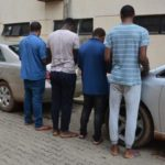 Busted: Four Abuja internet scammers taken into EFCC custody