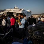 Greece transfers hundreds of asylum seekers to mainland