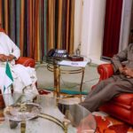 Photo News: Buhari meets Jonathan in Abuja