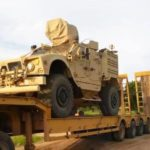Nigeria returns seized America's mine-resistant vehicles