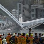 Five bodies found, one still missing after Taiwan bridge collapse (photos)
