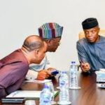 Osinbajo, Ortom Meet Over Benue, Ebonyi Land Crisis