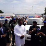 Photos: Enugu State Buys 100 Innoson Vans For Nigerian Police To Facilitates Security