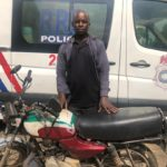 RSS Arrests Fake Policeman In Lagos Plying On An Illegal Route & Against Traffic