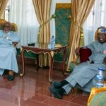 Tinubu Meets Akeredolu In Governor's Lodge, Asokoro, Abuja (Photos)