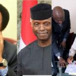 Shehu Sani mocks Osinbajo as Abba Kyari takes bill to Buhari in London for signing