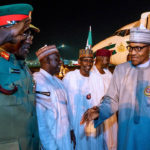 President Buhari Arrives Nigeria After Private Visit To The UK (photos)