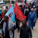 Police Fire Schoolgirl While Dispersing Shiites Protesters In Abuja (photos)