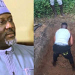 VIDEO: Melaye Buries Nephew Killed By Thugs During Kogi Election