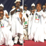 El-Rufai Kneels Down, Begs Kogi People To Forgive Gov. Yahaya Bello (Video & Photos)
