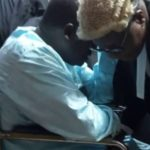 Bail application: Maina arrives in court with walking stick