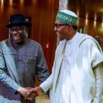 How President Buhari Celebrated Ex-President Goodluck Jonathan On His 62nd Birthday