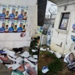 Kogi Guber: Thugs Attack SDP State Secretariat, Destroy Properties (Photos)