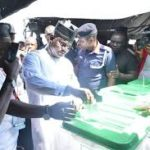 Kogi Guber: Governor Bello Casts His Vote (photos &video)