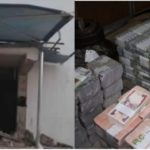 Ekiti Bank Robbery: Bank Staff Caught On CCTV Looting Vault Before Attack (photos)