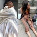 N*ked Emaciated Lady Seen In Ajah Is Unrecognizable In New Photos After Being Rehabilitated