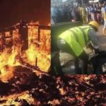 BREAKING: Four Feared Dead In Lagos Gas Explosion (photos)