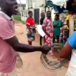 Frustrated Man Strips, Threaten To Rape Disco Official To Evade Seizure Of His Electric Cable (photos)