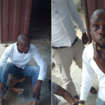 Lady And Boyfriend Arrested For Stealing Money Donated For Burial In Delta State (Photos)