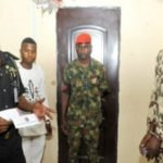 Fake Soldier Arrested For Stealing Electric Cables In Enugu