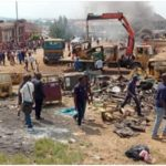 PHOTOS: Chairman Of FCT Ministerial Task Team Attacked While Raiding Illegal Shanties