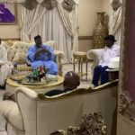 Jonathan, Wife Celebrate Lyon's Victory With APC Leaders (photos)