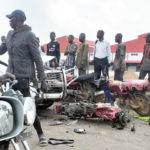 Policemen Crushes 2 People To Death While Driving Against Traffic In Ogun State